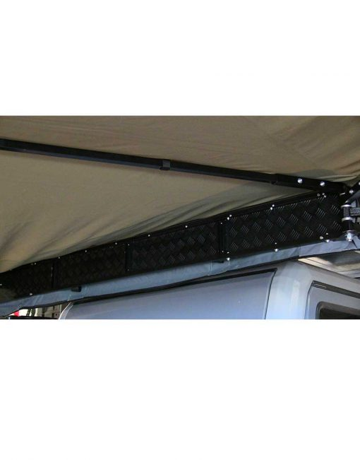 270 Gull Wing Awning - backing plate - The Bush Company
