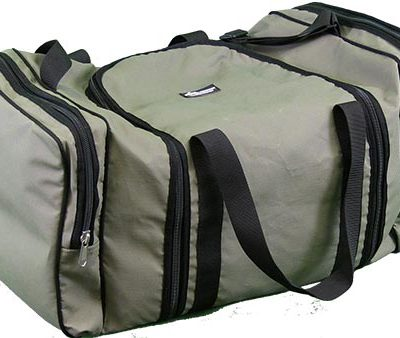 Large Duffle Bag - closed side view