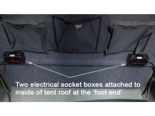 Clamshell Roof Top Tent - ALPHA - twin power box