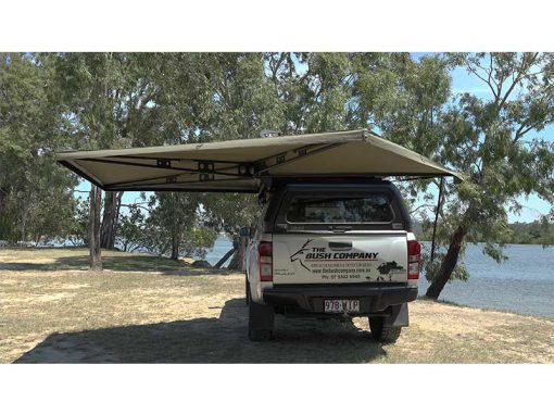 270 XT Awning - open rear view