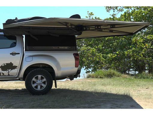 270 XT Awning - open side view