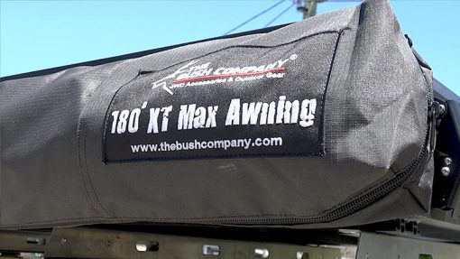 180 XT MAX Awning Bag and Label